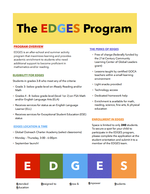 EDGES Flyer